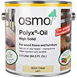 Osmo - Polyx-Oil - 3054 Clear Satin - 2.5 Liters