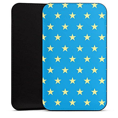 DeinDesign Cover kompatibel mit Wiko Highway Star Hülle Tasche Sleeve Socke Schutzhülle Polka Sterne Pattern Muster