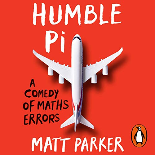 Humble Pi audiobook cover art