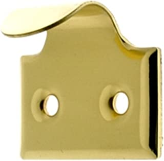 idh by St. Simons 21066-003 Professional Grade Quality Genuine Solid Brass Window Hook Lift, Polished Brass