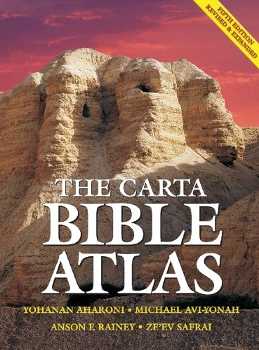 The Carta Bible Atlas - 5th Revised And Updated Edition