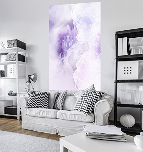 Komar - Disney - fleece fotobehang FROZEN WINTER MIST - 120 x 200 cm - behang, muurdecoratie, Elsa, ijskoningin - VD-033