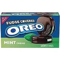 ナビスコ オレオ ファッジカバード ミントクリームチョコレート 9.9oz / Oreo Fudge Covered Mint Creme Chocolate [並行輸入品]