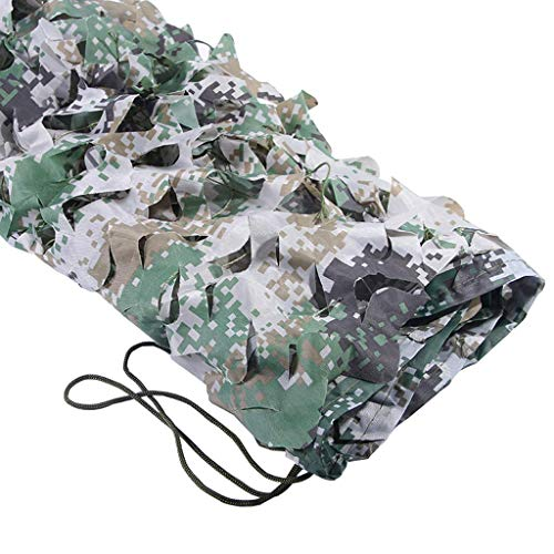 Luifel zeildoek / - Woodland Militaire Mesh, Camouflage Mesh Netting, Leger Mesh netten, Perfect Camonetting voor Camping Shooting Jacht, Militaire Thema Party Decoratie, Fotografie Carl Artbay Camouf