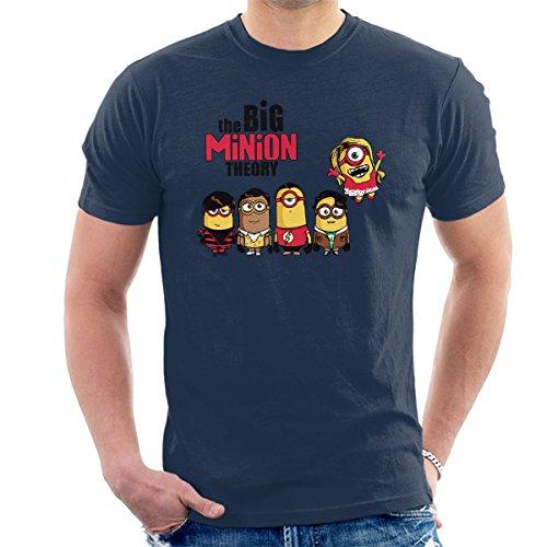 The Big Bang Minion Theory Men's T-Shirt