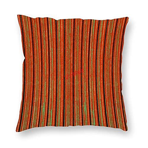 VinMea Funda de almohada decorativa patrón especial 80 fundas de cojín para sofá, dormitorio, hogar, oficina, decoración de 40 x 40 cm
