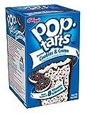 Kelloggs Pop Tarts Relleno de Cookies y Nata y Glaseado - 8 Unidades, Pack de 2