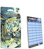 Andycards Mazzo ZERAORA Legami Inossidabili - Mazzo da 60 Carte Pokémon in Italiano + Segnapunti