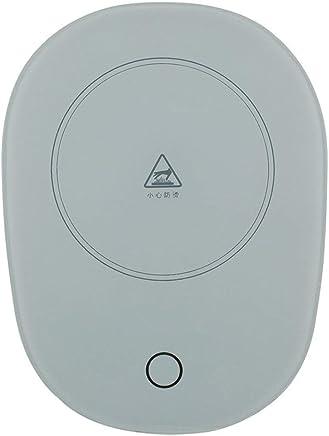 Fdit2 Uso de Oficina Caf/é electr/ónico Leche T/é Calentador de Taza Taza de Aislamiento Taza Calentador Calentador Compacto Aspecto Simple