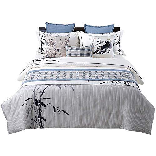ZXL Bed Vlag Europese Stijl Stof Huis Hotel Chinese Hotel Bed Handdoek Amerikaanse Bed Handdoek Staart Cover, 50 x 210 cm