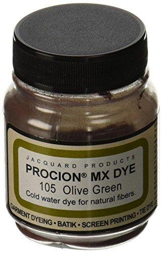 Jacquard Produkte olivee grün Procion Farbstoff, Acryl, Mehrfarbig