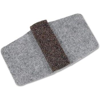 Nassco Wrap Around Floor Savers 1 7 8 X 2 3 8 Grey 100 Pack Amazon Com