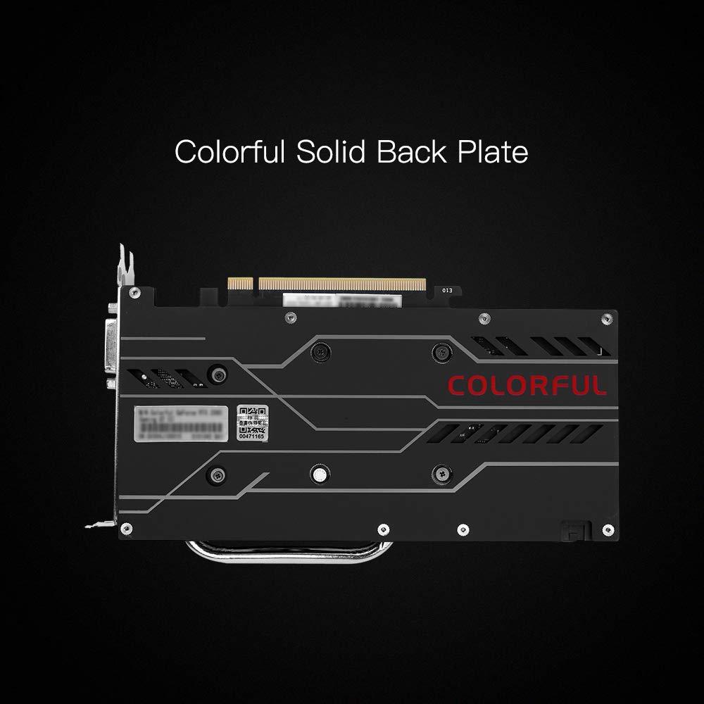 Docooler Tarjeta gráfica Colorida iGame GeForce RTX 2060 GDDR6 6G ...