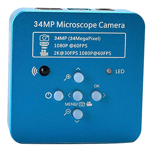 CUHAWUDBA 34Mp 2K 1080P 60Fps Hdmi Usb Microscopio