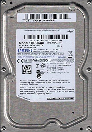 Samsung HD204UI/Z4HDD P/N: a7263-e46a-a096j 2TB