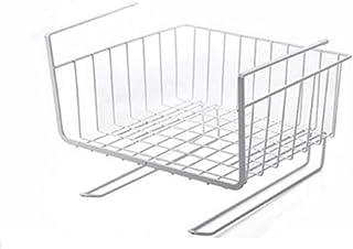 ZYCSKTL Armoire Suspendue Panier Rack métal Multifonctionnel Cuisine Rack intégré Suspendu Stockage Panier de Rangement 1 ...
