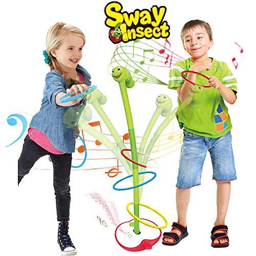 ALLCELE Ringwurfspiel-Set für Jungen und Mädchen, Geschenk für 3 Jahre alte Jungen