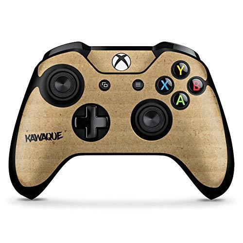DeinDesign Skin kompatibel mit Microsoft Xbox One X Controller Aufkleber Folie Sticker Kawaque Karton Merchandise