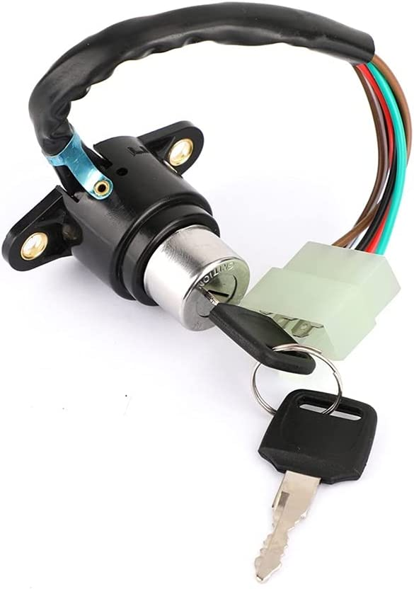 Import GUPRTO Max 66% OFF Motorcycle Ignition Coil Switch Compatible Lock