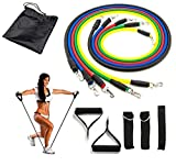 Latex Stackable Resistance Bands Set Yoga Exercise Fitness Band Rubber Loop Tube Bands