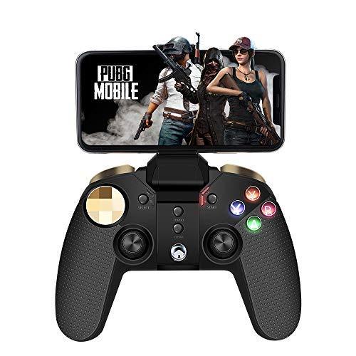 Mando para Mobile, PowerLead Wireless Controlador de juegos móvil inalámbrico para compatible con iOS Android Teléfono móvil PC
