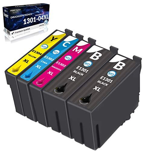 NTT 20 XL Druckerpatronen als Ersatz für T1301 T1302 T1303 T1304 kompatibel mit Stylus Workforce WF3520 WF3530 WF3540 3010DW WF7015 WF7515 WF3010 Stylus Office BX525WD