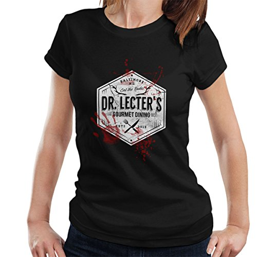 Dr Lecters Gourmet Dining Hannibal White Women's T-Shirt