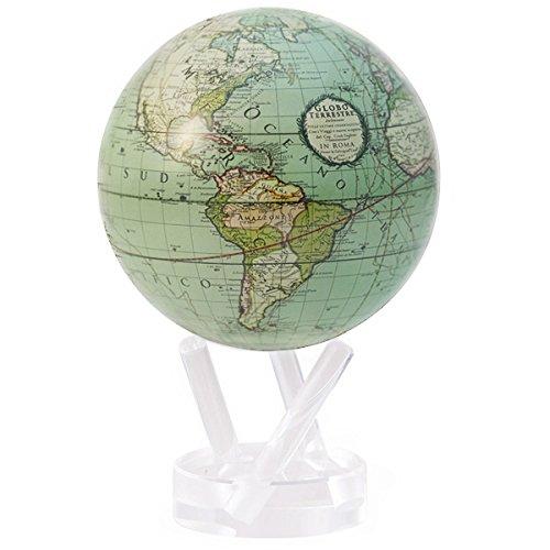 Mova Globes El globo terrestre 4.5 pulgadas Verde