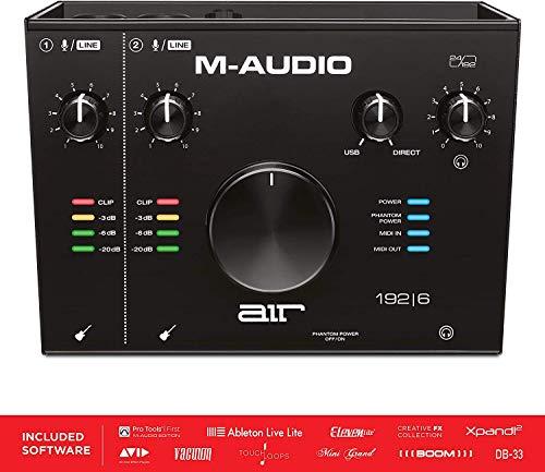 M-Audio USB/USB-C対応 2イン/2アウト オーディオインターフェース/MIDIインターフェイス:ProTools|First/A...