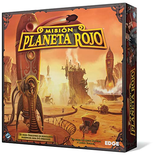Edge Entertainment Mision: Planete, rot, Brettspiel (EDGVA93), Modelle