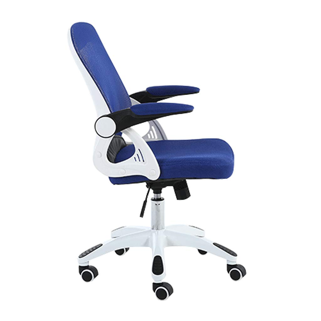 Computer Chair Small Office Chair Student Writing Chair Company Staff Chair Desk Seat Study Swivel Chair Family Leisure Stool Color Blue Size 60cm 60cm 107cm Amazon Co Uk Kitchen Home
