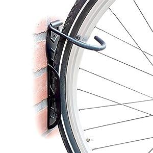 Set de 2 soportes de pared para bicicleta – Soporta hasta 25 kg cada uno