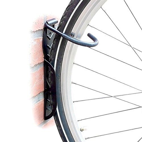 Set 2 soportes bicicleta a pared - Soporte hasta 25 kg cada uno