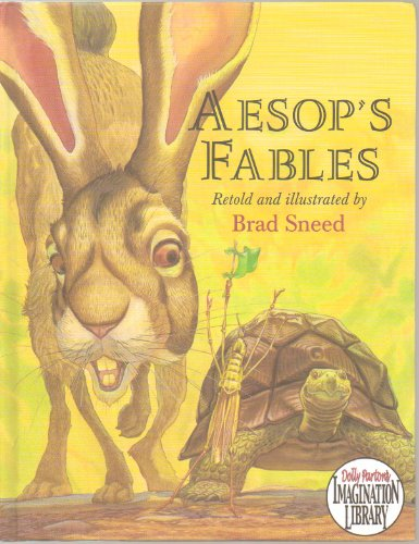 """Aesop's Fables - Retellings of 15 Fables from Aesop for Children, including """"The Stag at the Pool"""", The Lion and the Mouse"""", and """"The Vain Jackdaw"""" - Paperback - First Edition, 3rd Printing 2005 (Also, The Fighting Roosters and the Eagle - The Fox the Rooster and the Dog - Belling the Cat - The Fox and the Crow - The Town Mouse and the Country mouse, The Wolf and the Crane, The Ox and the Frog and more)"""