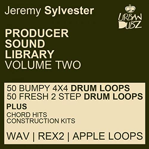 KITS Sample Pack Jeremy Sylvester Producer Sound Library Vol. 2 - Download Samples  DVD non BOX