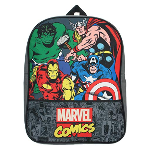 Marvel Comics Backpack Thor Hulk Captain America Iron Man