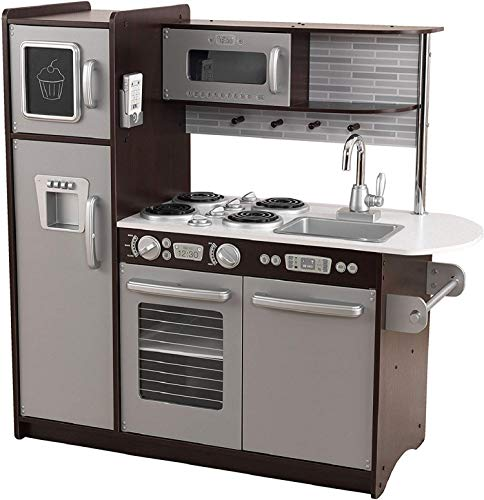 KidKraft Uptown Espresso Kitchen – Amazon Exclusive