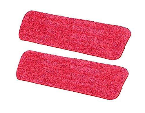 Impression 2Pcs Rot-Mopp Teppich Mopp Zubehör Reinigungsset
