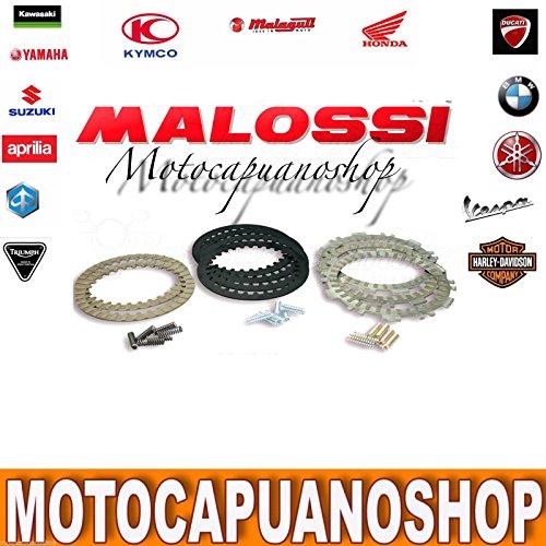 Malossi 5215401 - Serie de discos para embrague original Yamaha Tmax T-Max 500 2007