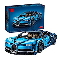 スポーツカービルディングブロック、ビルディングブロックカービルディングキットとエンジニアリング玩具、モーター付きアダルトコレクタブルスポーツカー