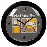 Simpsons Wanduhr the last perfect man