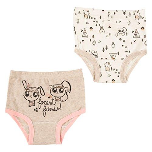 Petit Béguin - Lot de 2 culottes bébé fille Forest Friend - Taille - 24 mois (92 cm)