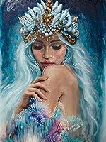 新しいフルラウンド油絵シーンダイヤモンド絵画ダイヤモンド 刺繡5DDIYダイヤモンド設定モザイク絵画ギフトZW3666