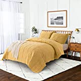 Jupitex 3-Pieces Quilt Set with Pillow Shams, All Season King Size...