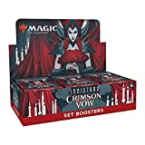 Magic: The Gathering Innistrad: Crimson Vow Set Booster Box   30 Packs + Box Topper (361 Magic Cards)