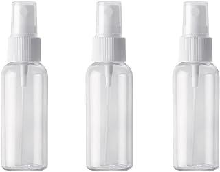 YXC スプレーボトル PET小分けボトル 3本セット 霧吹き 化粧水 詰替用ボトル 旅行用 アルコール対応(50ml)