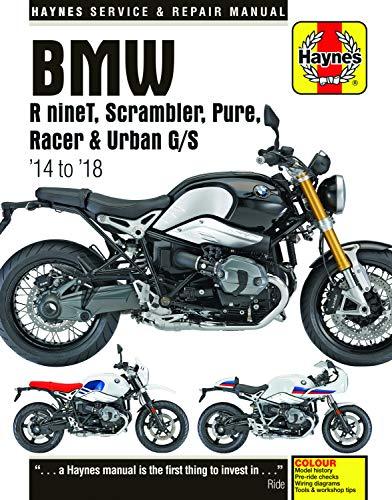 Haynes BMW R ninet, Scrambler, Pure, Racer & Urban G/S '14 to '18: Haynes Service & Repair Manual (Haynes Service and Repair Manual)