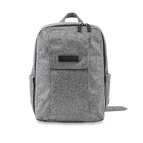 JuJuBe MiniBe Small Backpack, Onyx Collection - Gray Matter, One Size