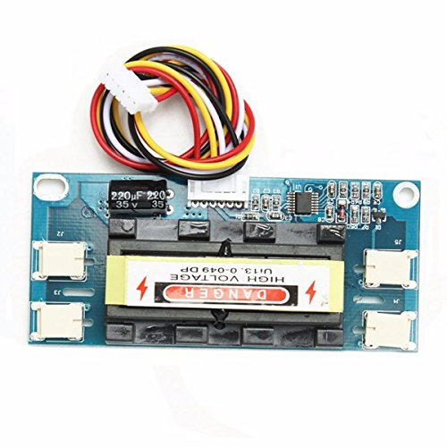 ILS - 4 LCD portátil de la lámpara de luz de Fondo CCFL inversor Universal Módulo 10-30V por 15-26 Pulgadas de Pantalla