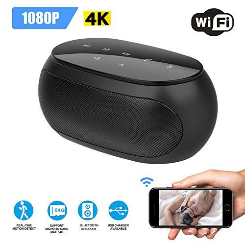 Inovics Spy 4K Bluetooth Speaker Camera with...